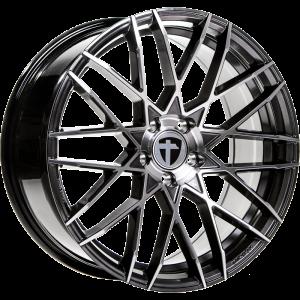 Cerchi in lega  TOMASON  TN19  19''  Width 8,5   5x108  ET 40  CB 72,6    Dark Hyper black polished