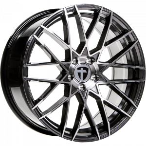 Cerchi in lega  TOMASON  TN19  21''  Width 9   5x120  ET 30  CB 72,6    Dark Hyper black polished