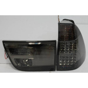 Fari Posteriore BMW X5 Black  02-05 Led