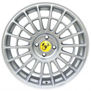 Cerchi in lega  500 ABARTH Dedica Fiat  17''  Width 7,5   4x98  ET 30  CB 58,1    Hyper Silver