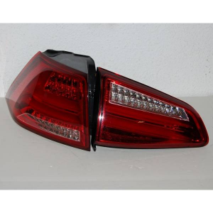 Fanali Posteriore Volkswagen Golf 7 2013 Led Red Cardna