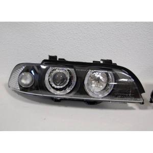 Fanali Anteriori Day Light BMW E39 95-03 Black