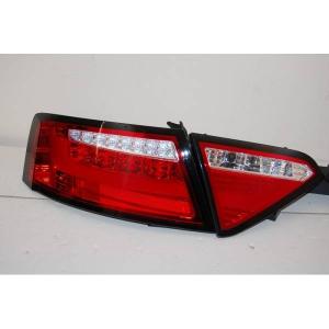 Fanali Posteriori Audi A5 2-4P 07-09 Led Red Cardna