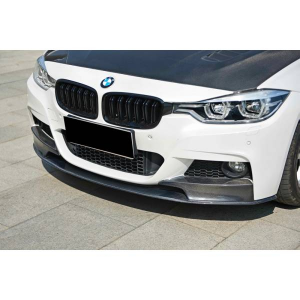 Spoiler Anteriore BMW F30 Mtech Look Performance Carbonio