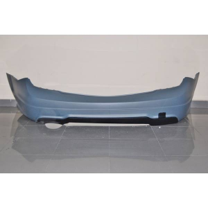 Paraurti Posteriore Mercedes W204 07-13 2-4P 1 Scarico Look AMG ABS