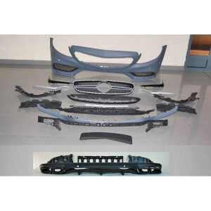 Kit COMPLETI Mercedes W205 2014-2018 AMG 2 Porte Look C63