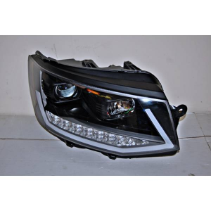 Fanali Real Day Light Volkswagen T6 Nero DRL