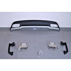 Diffusore Posteriore Mercedes W176 2012-2018 Look A45 ABS