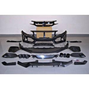 Kit COMPLETI Honda Civic MK10 Hatchback 2016+ look Type R ABS