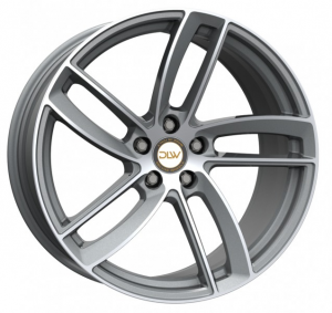 Cerchi in lega  DELUXE  Elite-K  20''  Width 10,5   5x112  ET 50  CB 78,1    Matt Anthracite Full Polish
