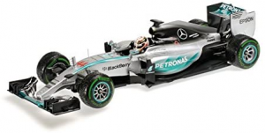 Mercedes AMG Petronas F1 Team Louis Hamilton Winner USA GP 2015 1/18