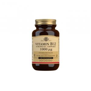 Solgar Vitamin B12 1000 µg Sublingual - Chewable Nuggets - Pack of 100