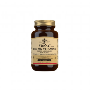 Solgar Ester-C Plus 1000 mg Vitamin C Tablets - Pack of 30