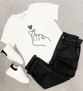 T-shirt schiocco