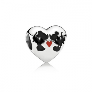 Disney, Charm Il Bacio di Mickey Mouse e Minnie
