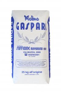 Farina artigianale tipo 0 di grano tenero italiano, Formato da 25 KG