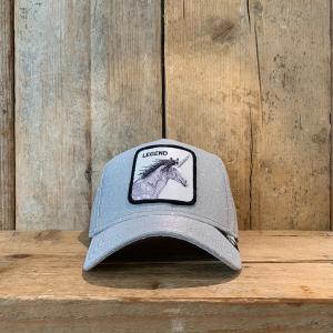 Cappellino Goorin & Bros con Unicorno Argento Brillantinato