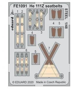 He111Z Seatbelts Steel