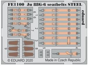 Ju88G-6 Seatbelts Steel