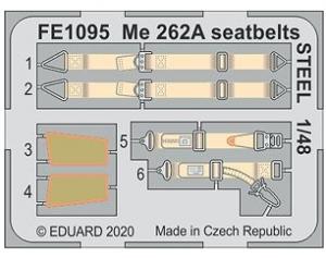 Me262A Seatbelts Steel