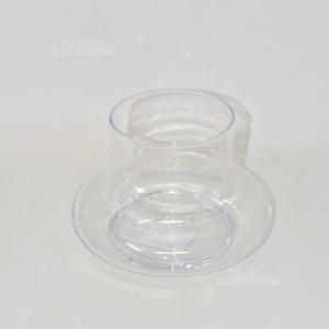 Vaso In Vetro 17 Cm