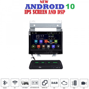 ANDROID 10 autoradio navigatore per Land Rover Freelander 2 2007-2012 GPS WI-FI Bluetooth MirrorLink