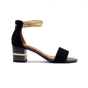 Sandalo nero ALV by Alviero Martini
