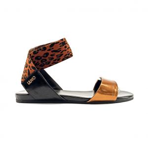Sandalo bronzo/animalier Liu Jo