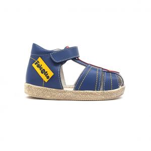 Sandalo azzurro/rosso Falcotto