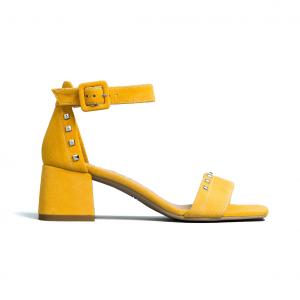Sandalo giallo Nero Giardini
