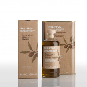 PHILIPPOS CLASSIC Extra Virgin Olive Oil 500ml + 3L