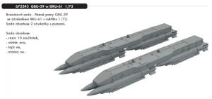 GBU-39 w/BRU-61