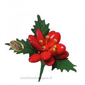 Stella rossa di Natale Fiore di Confetti William Di Carlo Sulmona - Italy