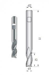 Fresa B2 Z3 HSS-E Co8
