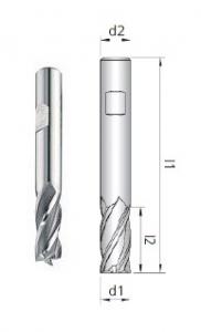 Fresa G2 Z4 HSS-E Co8