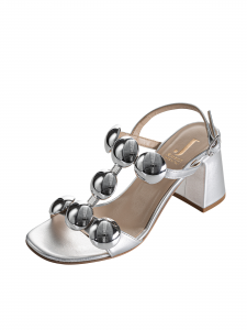 Sandalo Jeannot 52411FTR70PELOP0190 Argento