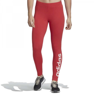 Adidas Leggings Lin Tight Pastel Red da Donna