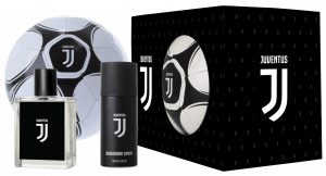 COFANETTO JUVENTUS EDT 100ml + DEO SPRAY 150ml + PALLONE