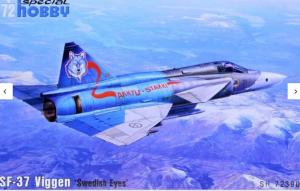 SF-37 Viggen 'Swedish Eyes'
