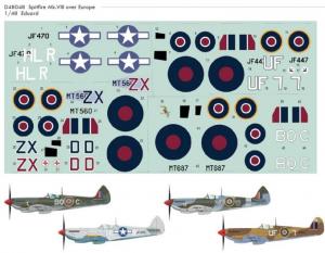 Spitfire Mk.VIII over Europe