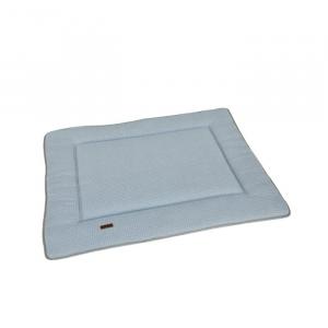 Tappeto gioco neonato Playpen Mat Soft Stone Bamboom Blue