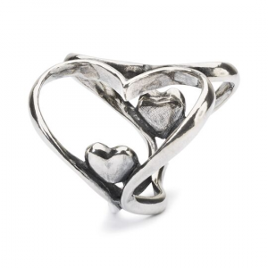 Beads Trollbeads, Pendente Cuore a Cuore