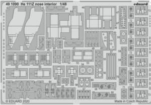 He111Z Nose Interior