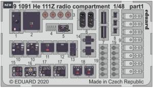 He111Z Radio Compartment