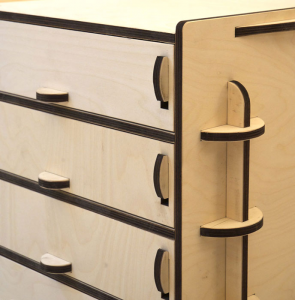A2 DEDALO - La cassettiera di design