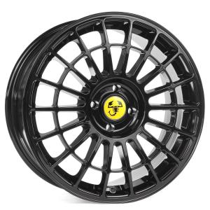 Cerchi in lega  500 ABARTH Dedica Fiat  17''  Width 7,5   4x98  ET 30  CB 58,1    Black
