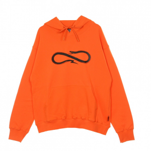 Felpa Propaganda Logo Hoodie Orange