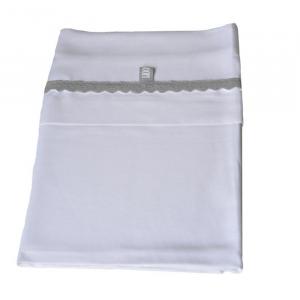 Set Lenzuola per culla Bedsheet 100x75 cm Bamboom Grey