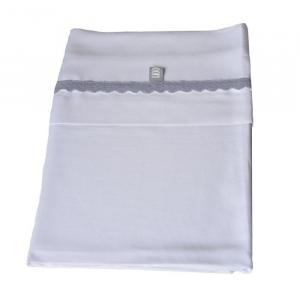 Set Lenzuola per culla Bedsheet 100x75 cm Bamboom Blue