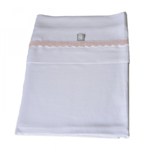 Set Lenzuola per culla Bedsheet 100x75 cm Bamboom Rosa